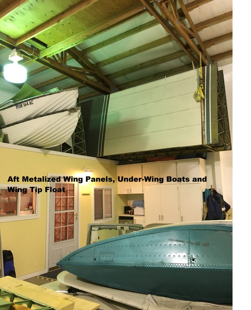 11. Aft Metalized Wing Panels, Under-Wing Boats and Wing tip Float