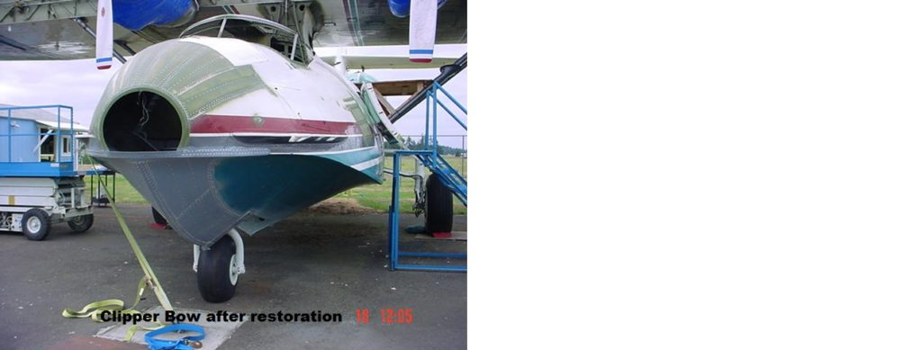 26. Clipper Bow after Restoration