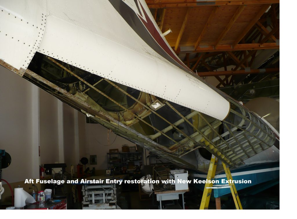 27. Aft Fuselage and Airstair Entry restoration