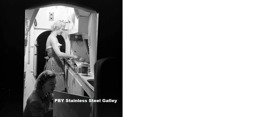 7. PBY Stainless Steel Galley