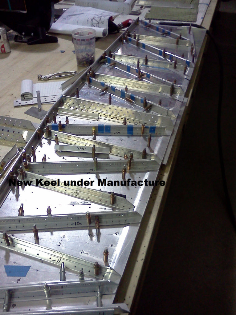 e1bbbb31-9475-485a-acf7-2200c1edfaed14. New Keel under Manufacture